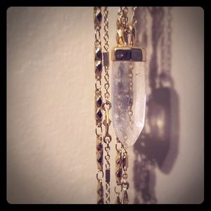 Stella & Dot 3 tier Long Necklace